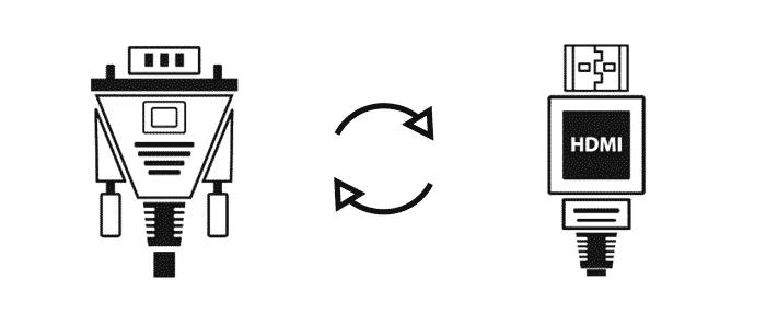 Smombee VGA HDMI Adapter Konverter