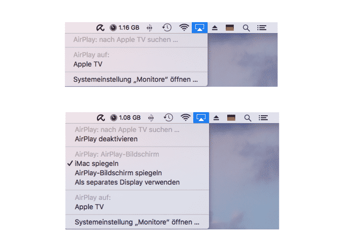 AirPlay-Mac-verbinden