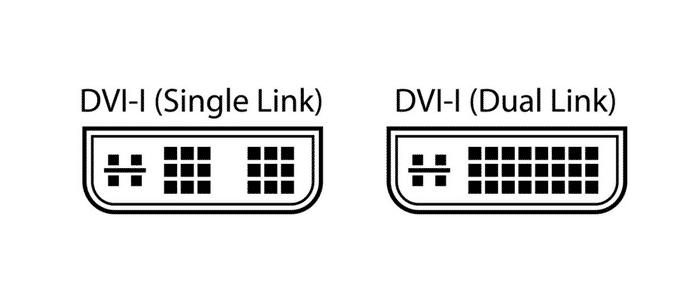 DVI-I-Stecker