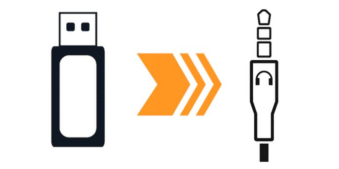 AUX USB Adapter MP3 Stick