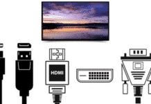 DisplayPort HDMI DVI VGA