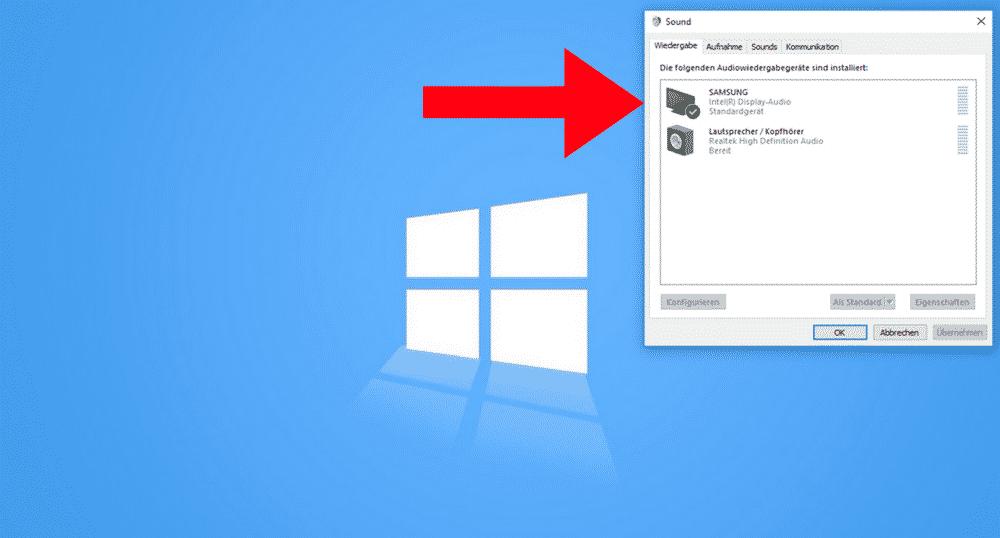 Kein-Ton-HDMI-Windows-Einstellung