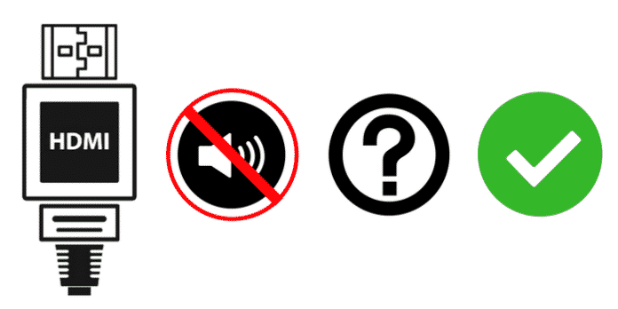 kein Ton über HDMI